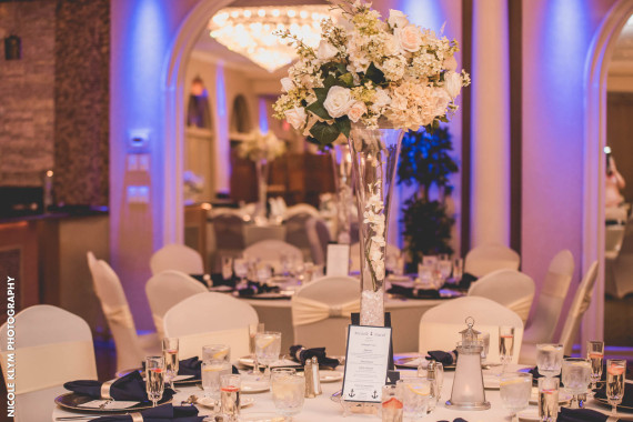 Versailles Ballroom Centerpieces Are Included In All Of Our Wedding Packages