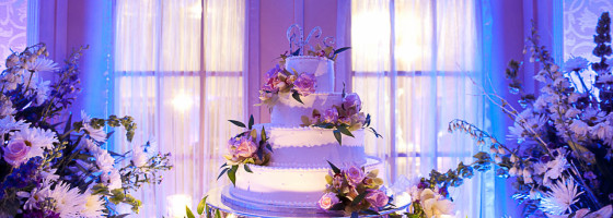 Wedding Cake Indoors