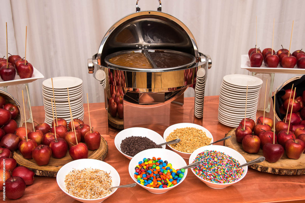 Apple Dipping Station