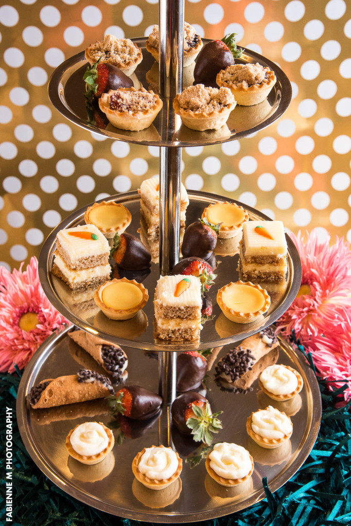Spring Wedding Desserts at Versailles Caterers