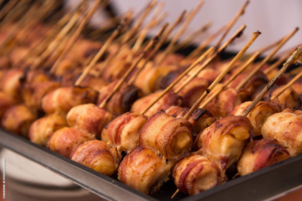 bacon wrapped foods