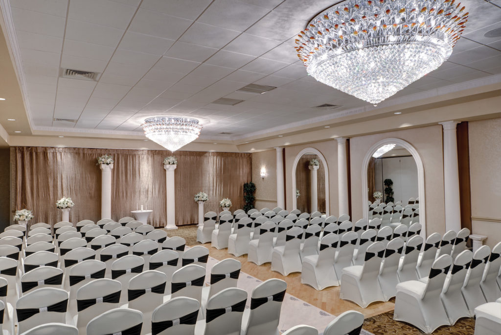 wedding ceremony room