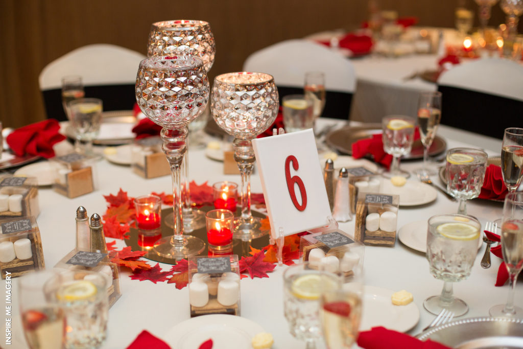 centerpieces candles
