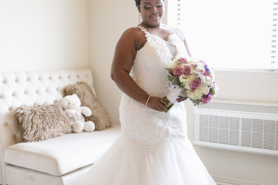 dc089fb17c1 Chelsea got ready in our new Bridal Lounge!