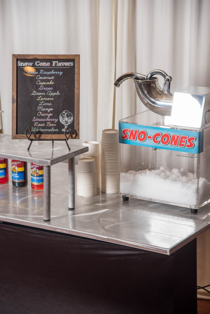 carnival confections food station